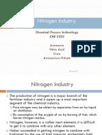 Nitrogen Industry