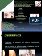 Patologia Hemofilia Josselynhuerta IV Ciclo