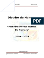 55339198 Plan Urbano Cajamarca Namora