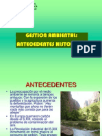 CLASE 2 Gestion Ambiental - Antecedentes
