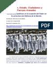 MICM  reposicion 2013 y en impactoCNA Instituciones políticas en la ecuación del en la estructura de Defensa de la Nación_Rev