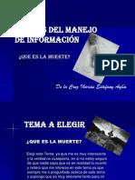 ETAPAS DEL MANEJO DE INFORMACIÓN