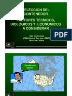 4- Seleccion de Contenedores, K.dumroese