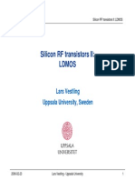 4 Silicon LDMOS