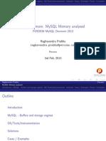 MySQL 内存分析