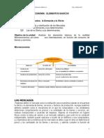 Unidad II Microeconomia Elementos Basicos