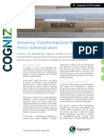 Achieving Transformational Results from Policy Administration