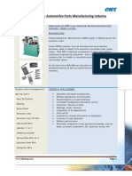 ERP for Automotive Parts Manufacturing Industry
