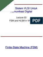 El5067 13 Lec03 Fsm and Hlsm in Vhdl