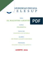 El Maestro Aristoteles