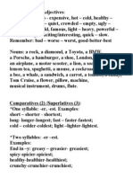 comparatives and superlatives.doc