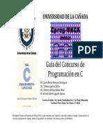 GuiaEjercicios C Cprog UNCA 2012