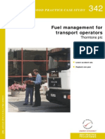 Fuel Management for Transport Operators