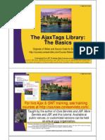 AjaxTags Basics