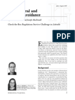 Anti Deferral and Anti Tax Avoidance August2007