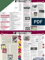 INSIDE ARSENAL MAGAZINE FA CUP WINNERS 2005