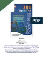 101 Tip Trik Ms Word 2003