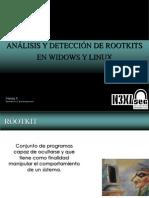 Análisis y detección de rootkits en windows y linux. / Aleida Pérez