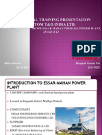 Thermal Power Plant Introduction