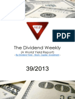 Dividend Weekly 39_2013