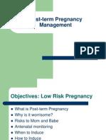Post Date Pregnancy