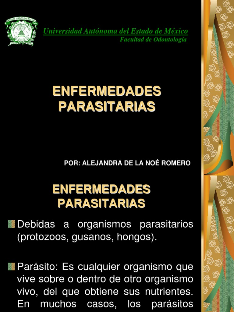 plagas y enfermedades parasitarias