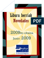 2009ko Ekaina - Junio 2009