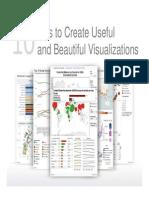 10 Tips to Create Useful Beautiful Visualizations