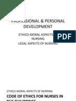 Professional and Professional Development