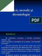 Etica Morala Deontologia