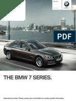 7series Sedan Catalogue