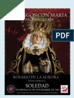Año de la Fe, Domingos con María en Rute.