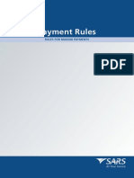 SARS Payment Rules July 2011