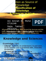 Revelation as Source of Knowledge