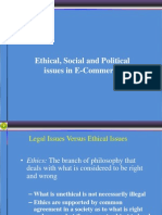 Ethical, Social and Political Issues