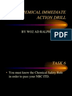 Chemical Immediate Action Drill