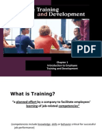 Chapter 1 (Training &Develop.)