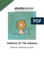 StudyGuide-CarnivalOfTheAnimalsBallet