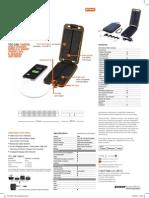 Solarmonkey Adventurer Data Sheet