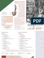 programa formaciones clínicas Asociación Psicoanalítica de Galicia
