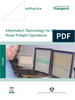 Information Technology for Efficient Road Freight Operations