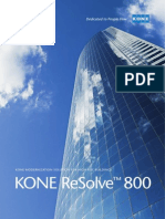 Brochure Kone Resolve 800
