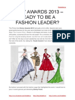 Ready to be a fashion leader
