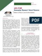 08-03-00 - Lords of Jade (IPCS Issue Brief No60)