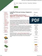 Learning FPGA and Verilog a Beginner's Guide