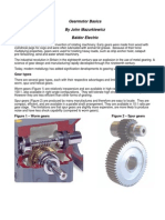 Gearmotor Basics
