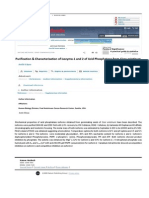 Purification and Characterization of isozyme 1 and 2 of Acid phosphatase from Cicer arietinum