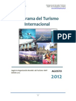 Panorama Del Turismo Internacional Omt 2012