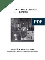 Lareformadelaliturgia k Gamber Phpapp01