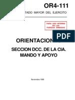 OR4-111 Seccion Defensa Contracarro